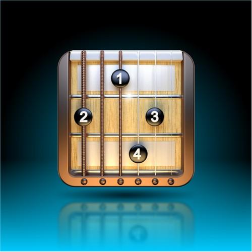 Guitar Charts Creator Ios Icon