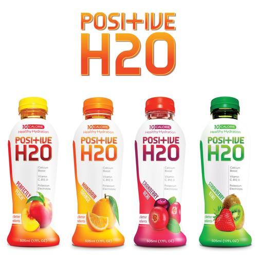 Positive H2O logo redesign