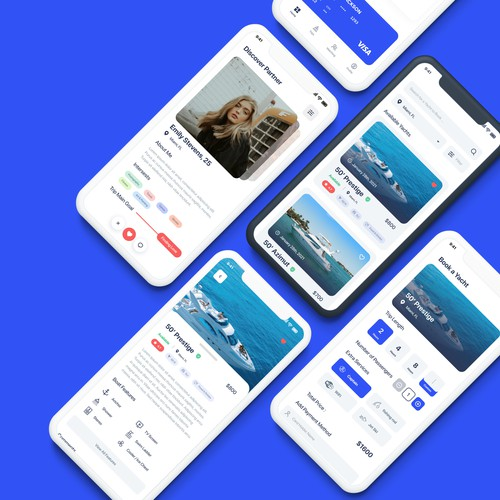 App Design for a Yacht Rental Business