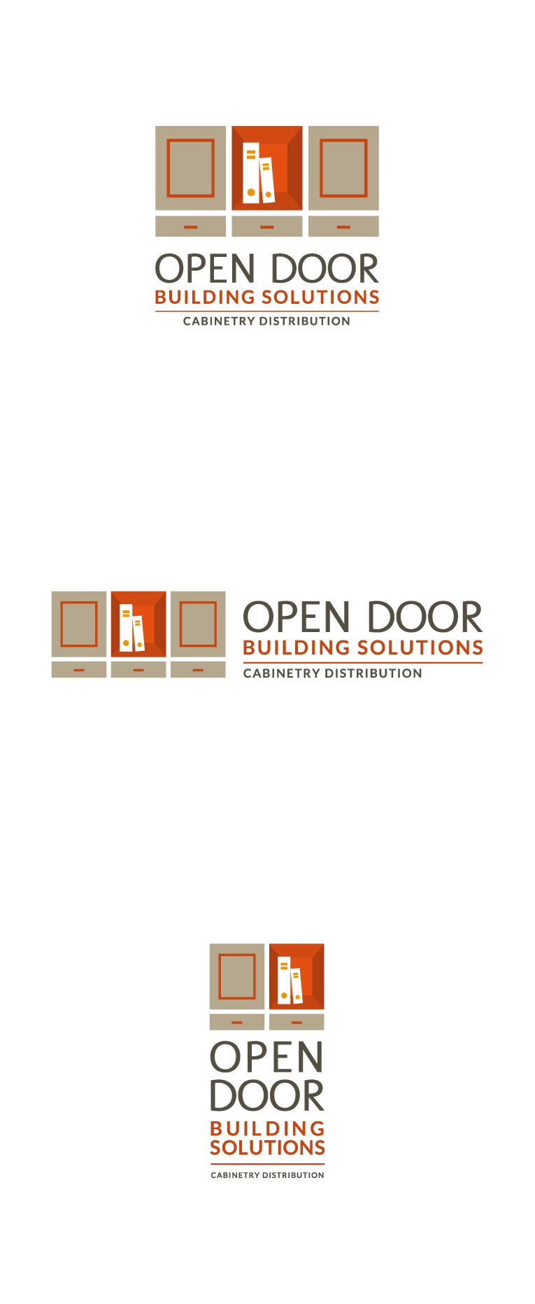 Logo Needed for New Cabinet Distribution Company w/ Additional Other Focuses