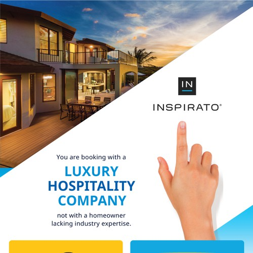 luxury infographic for a growing hospitality brand