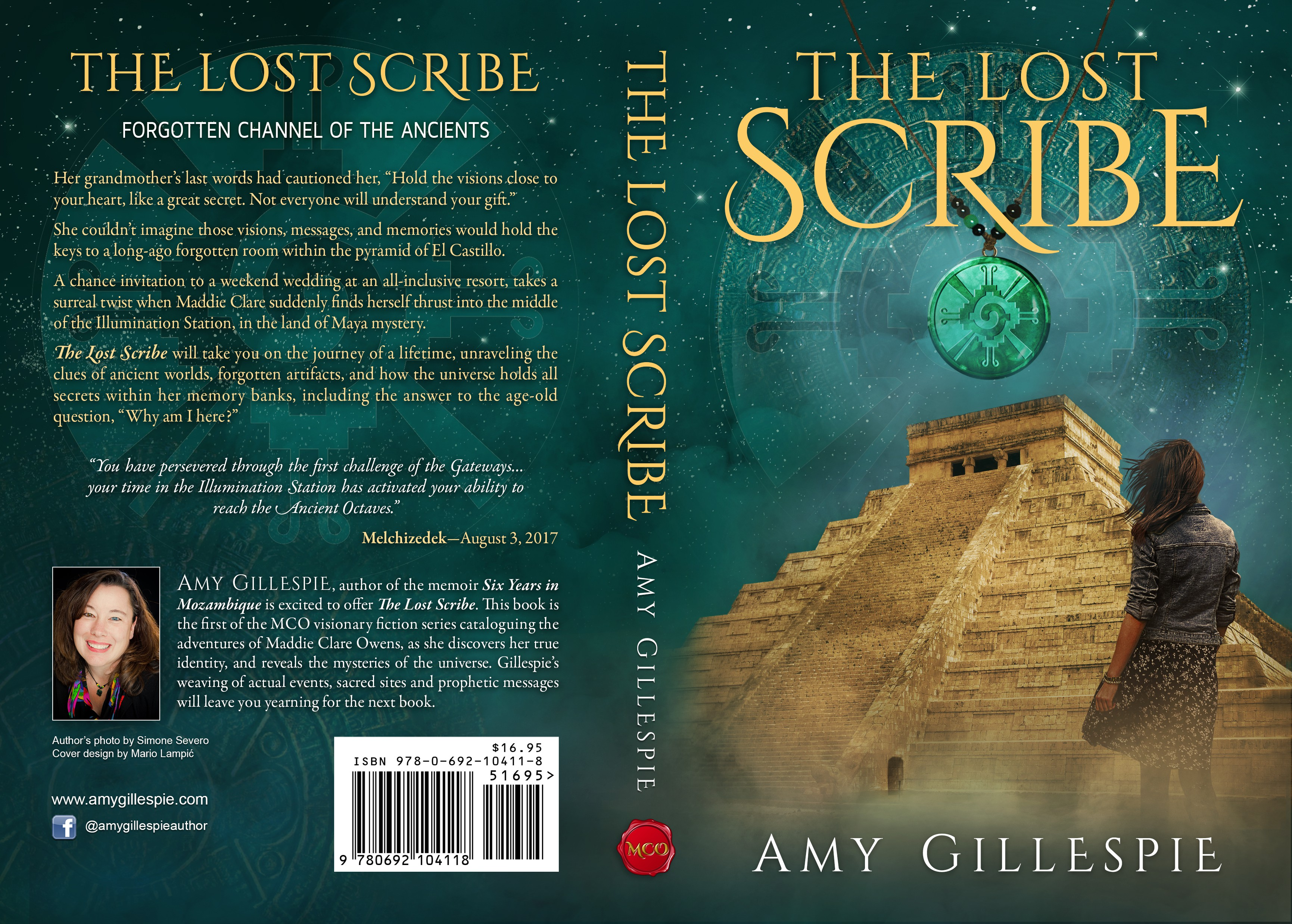 Dynamic Book Cover for Adventure Fiction Series,  at forgotten sacred sites (crediting illustrator)