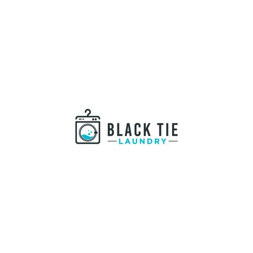 Black Tie Laundry logo