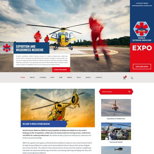 Expo - Rescue Wordpress Design