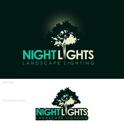 Night Lights Landscape