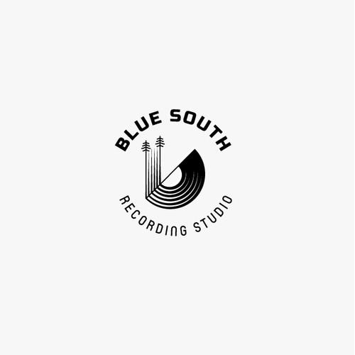 Blue South Recording Studio Logo