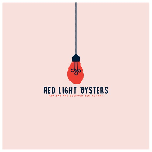 Logo Concept for Red Light Oysters