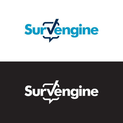 Logo design for Survey SAAS business