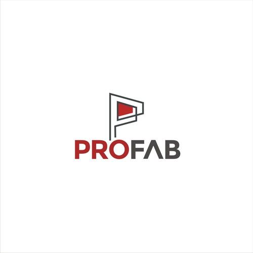 Creative logo design for Profab