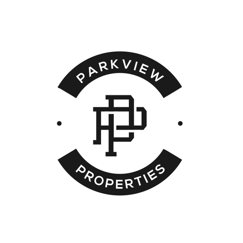 Vintage Logo concept for Parkview Properties