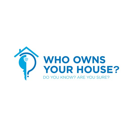 Fun logo for company that stops scammers and protects home owners and renters