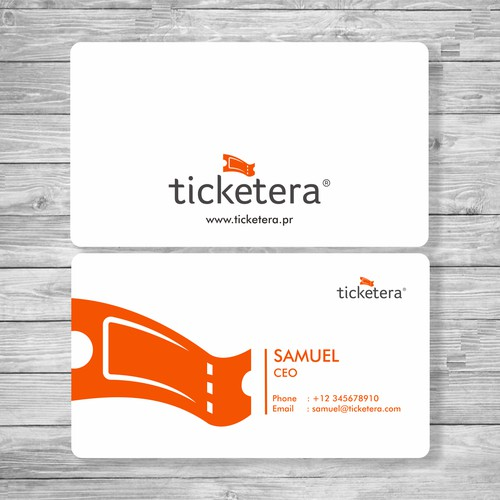 Ticketera Bussiness card