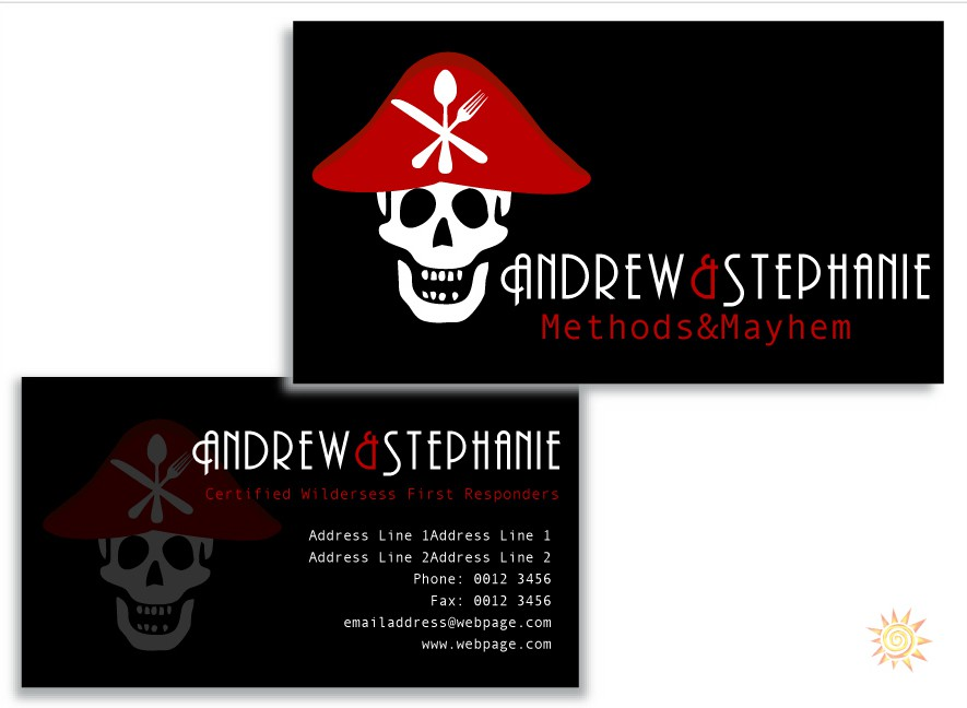 Help Methods of Mayhem  with a new logo and business card