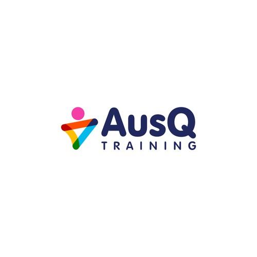 AusQ Training logo design