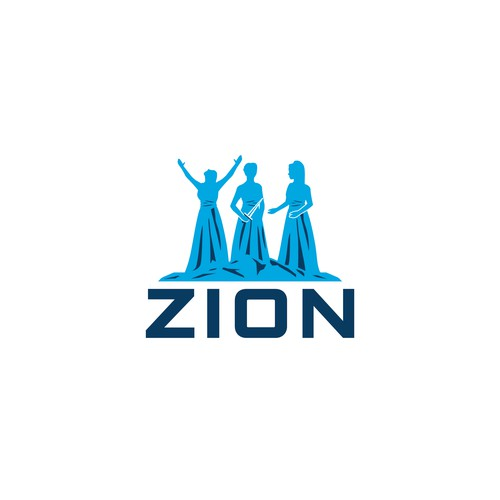 logo for Warring Women Of Zion