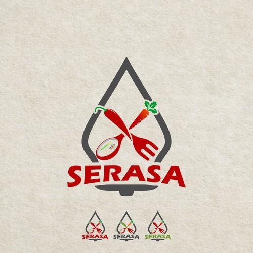serasa logo design