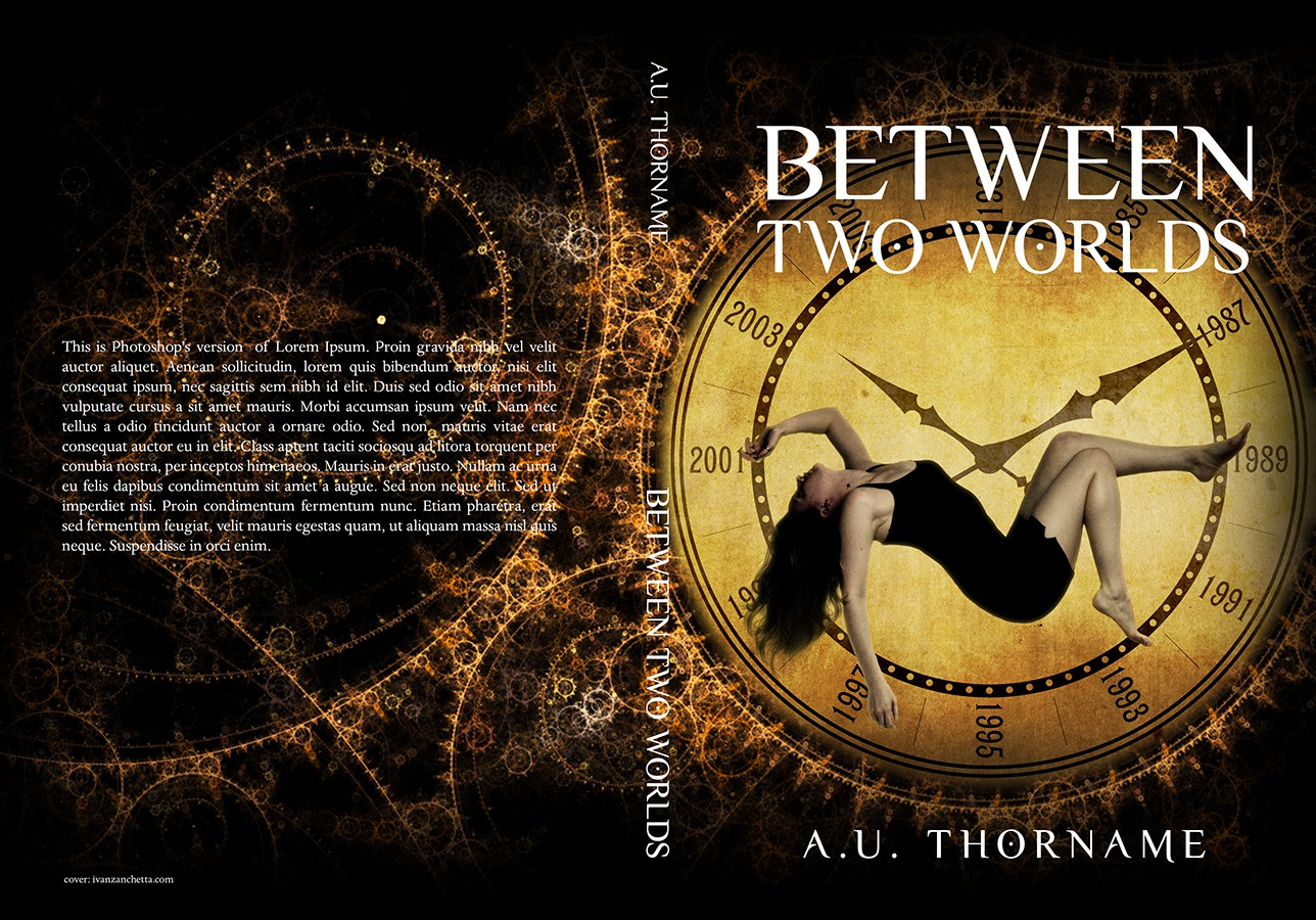 Help me pick the book cover for Between Two Worlds