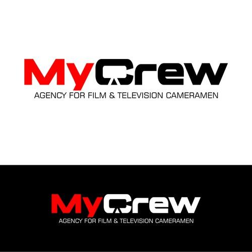 Typo Logo Concept for MyCrew