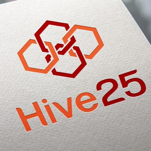 Hive 25 Logo