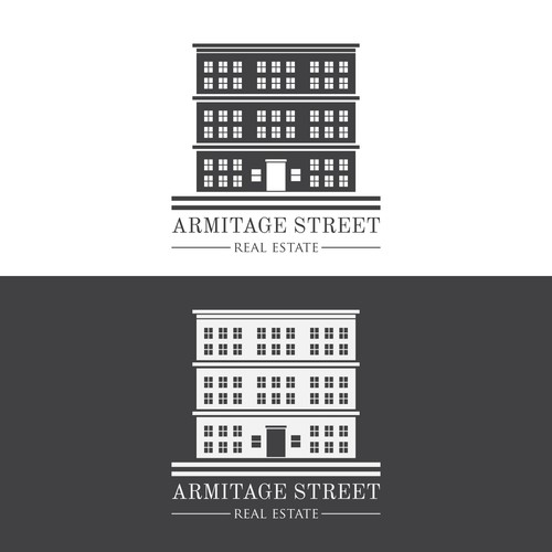 Submitted logo design for Armitage Street