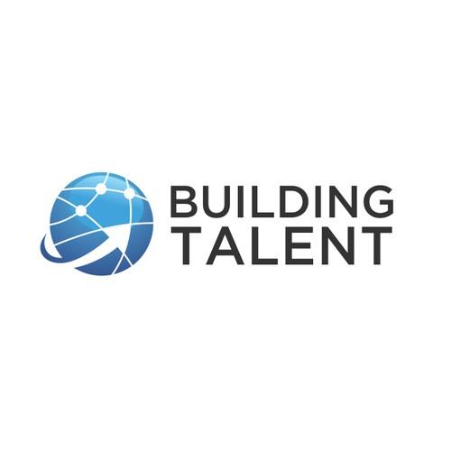 globe logo for Building Talent