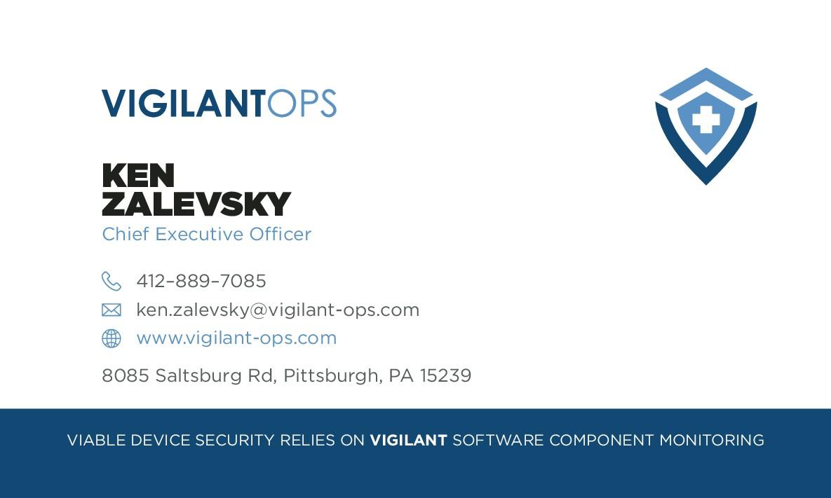 Vigilant Ops Business Cards