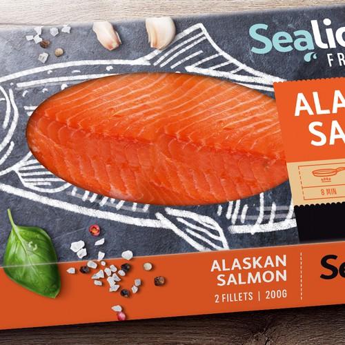 Sea Food Packaging Design