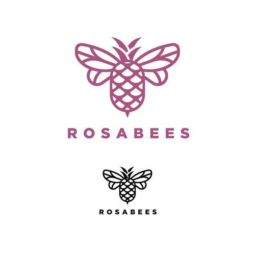 Rosabees Cake Bakery and Cafe Logo