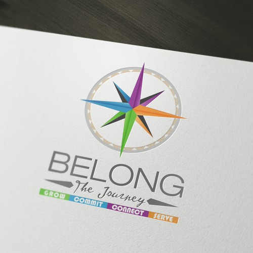Logo for a church youth guidance centre.