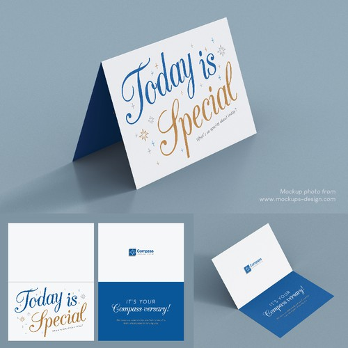 Anniversary Card for Compass Financial Group