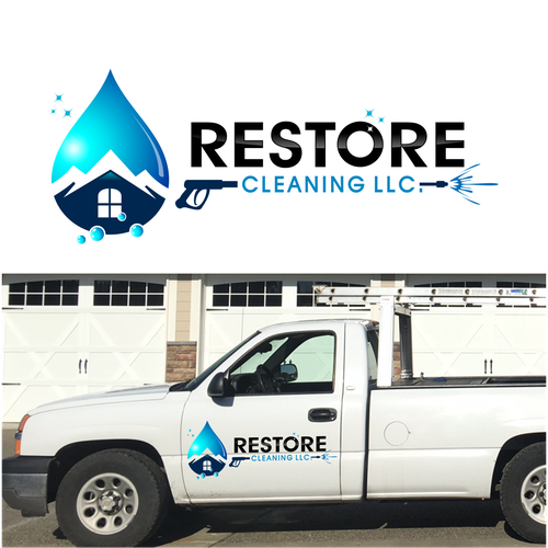 restore cleaning logo