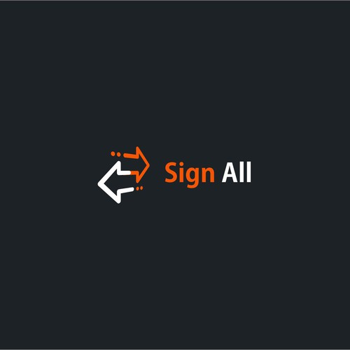 Logo concept for Sign All