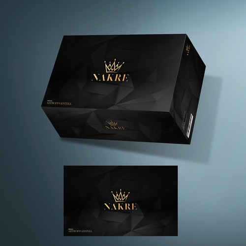 Strict box design for a premium product