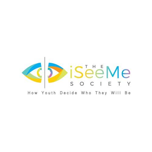 Staring eyes for iSeeMe Society