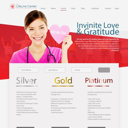 LifeLine Center Web Design