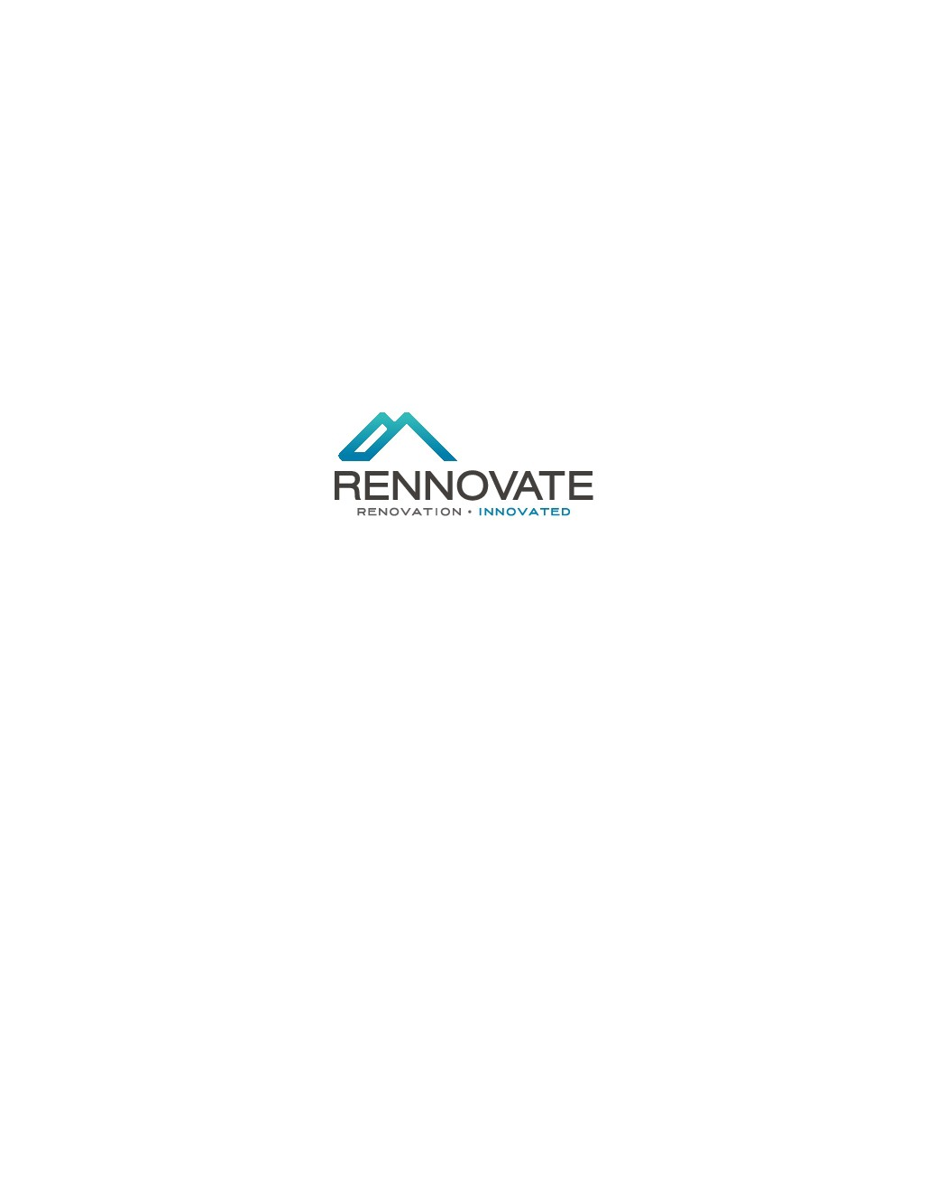 Rennovate Logo Design -- Start with Logo Design, then Move to more, more and more work!