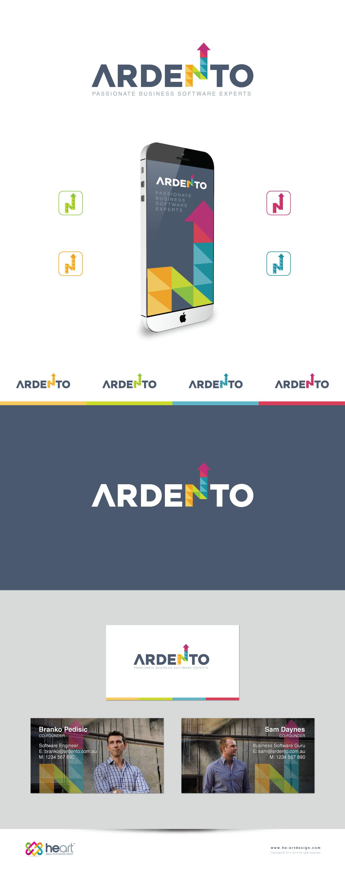 Create a Logo and Business Card design for Ardento