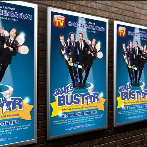 Create a Eye Catching Comedy Poster
