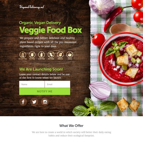 Veggie food box