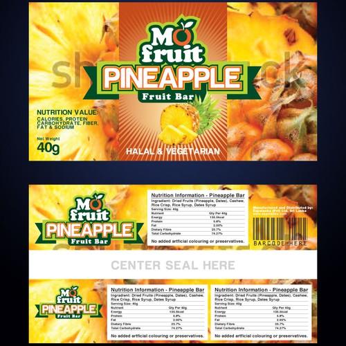 Packaging Design for Mo Fruit