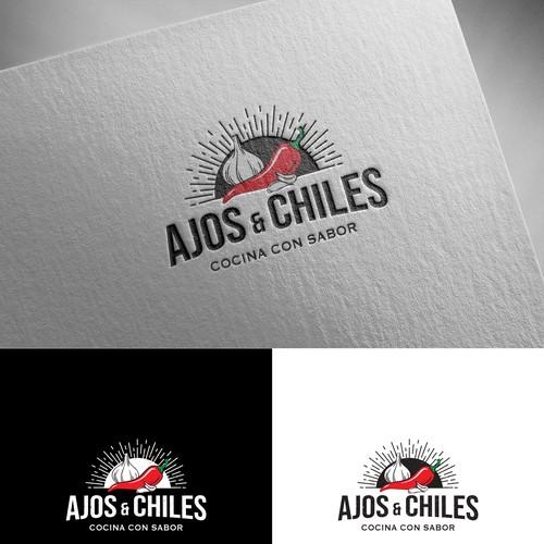 Logo Design - Ajos & Chiles