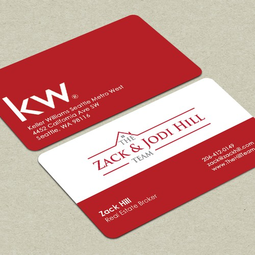 Zack & Jodi Hill Team: Business Card