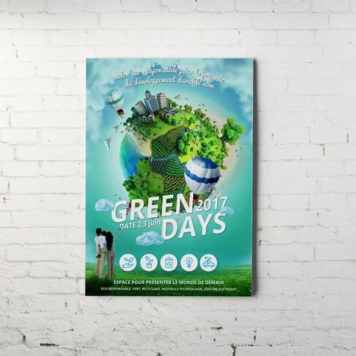 affiche green day
