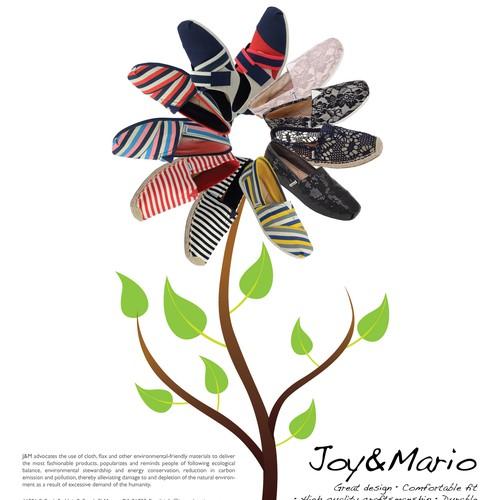 Magazine Ad for Joy&Mario