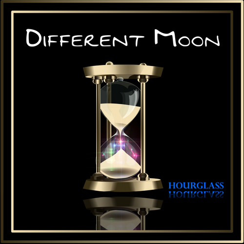"CD cover for ""Different Moon"" Hourglass"