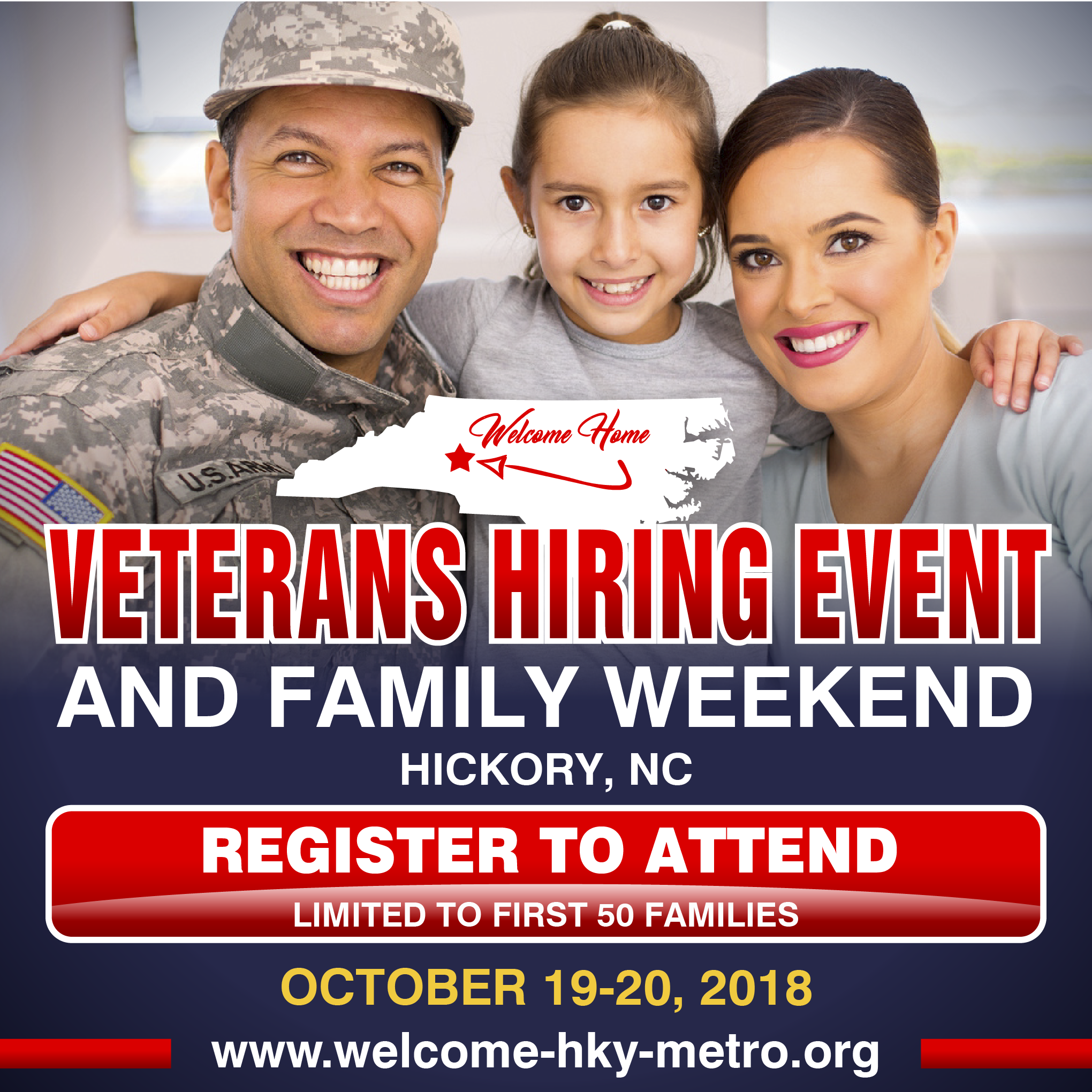 Banner Ads for Unique Veteran Hiring Event