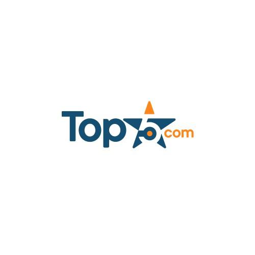 logo concept for top5.com