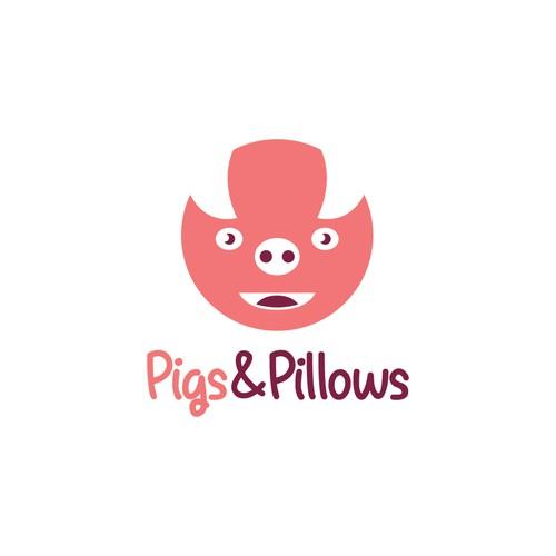 Logo Pig & Pillows