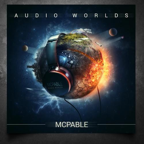 """Audio Worlds"" - electronic rock music album"