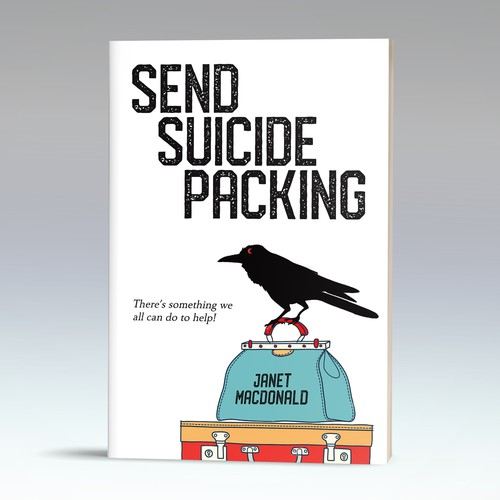 Interesting take for a book on suicide prevention
